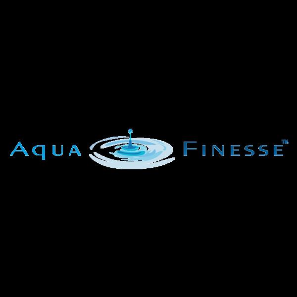 Illustratie: weergave van het logo van Aqua Finesse.