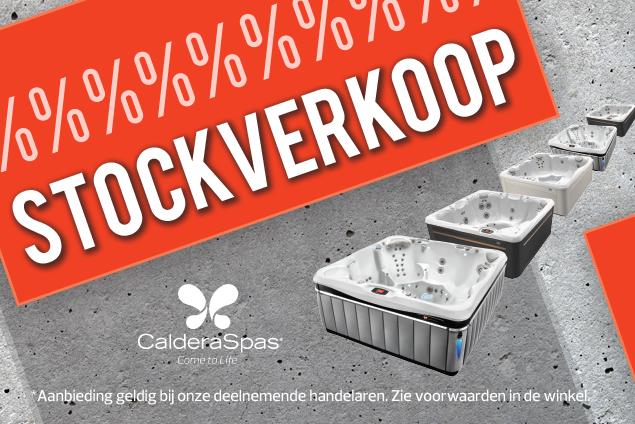 Stockverkoop Caldera Spas